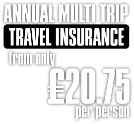 Sunmaster Annual Multi-Trip Travel Insurance
