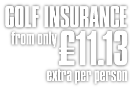 Sunmaster Golf Travel Insurance