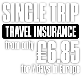 Sunmaster Single Trip Travel Insurance